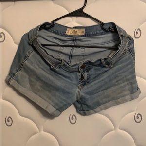 Girls Hollister shorts